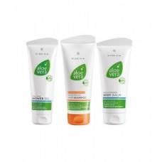 Aloe Vera Комплект Грижа и почистване за косата и тялото